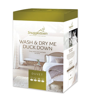 Snuggledown Wash and Dry Me Duck Down 13.5 Tog Duvet