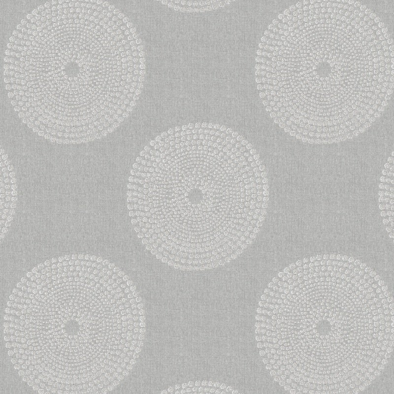 Fryetts Fabrics Sonar Curtain Fabric Silver Picture