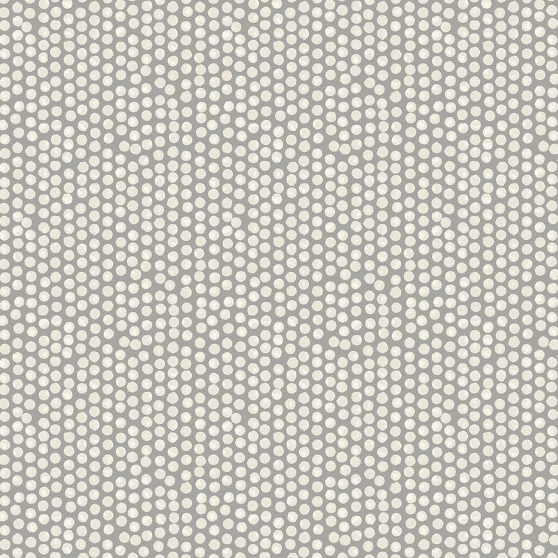 Fryetts Fabrics Spotty Curtain Fabric Grey Picture