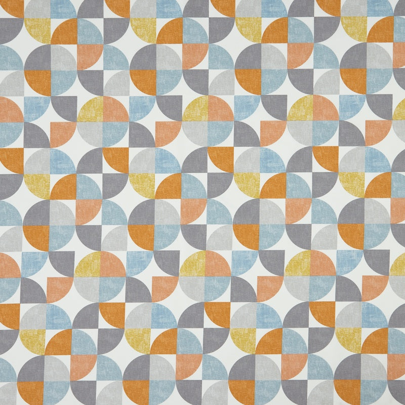 SMD Fabrics Spiral Curtain Fabric Tangerine Picture