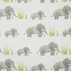 Jumbo Elephant Curtain Fabric