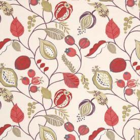 Zest Curtain Fabric Berry Cheap Printed Curtain Fabrics