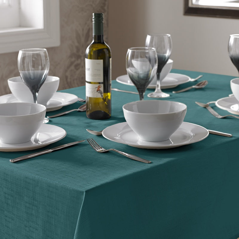 Alan Symonds Homewares  Select Table Cloth Teal