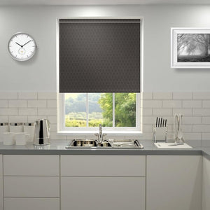 Tevere Roller Blind Chocolate