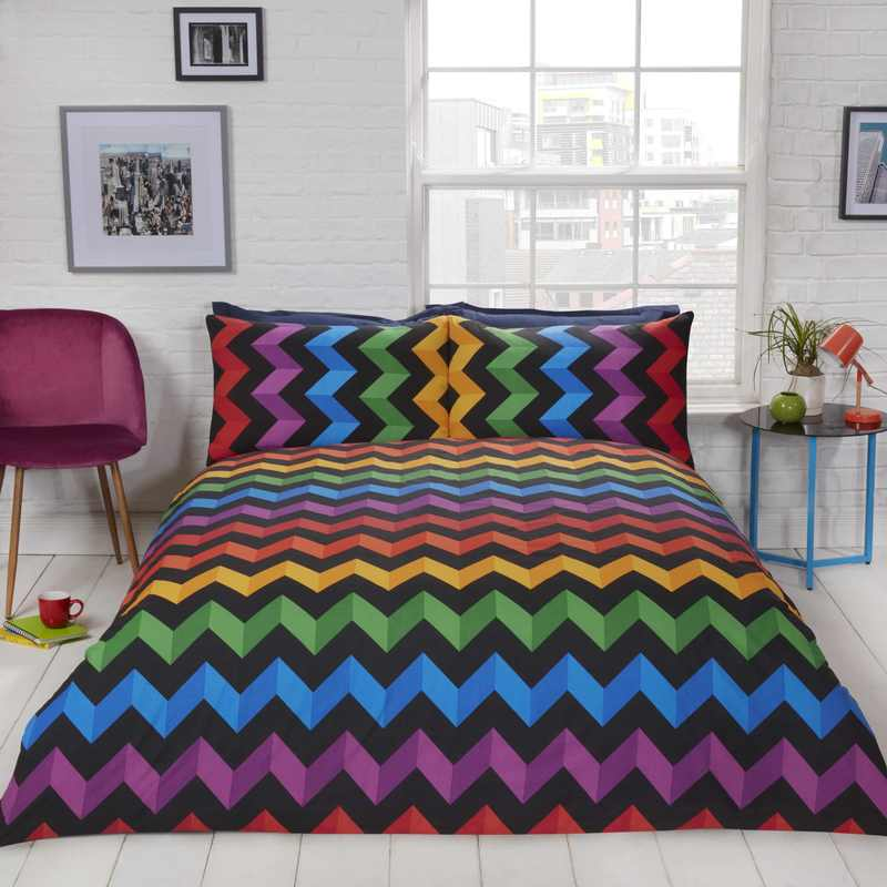 Rapport Beds Three D Bedding Set Multi Picture