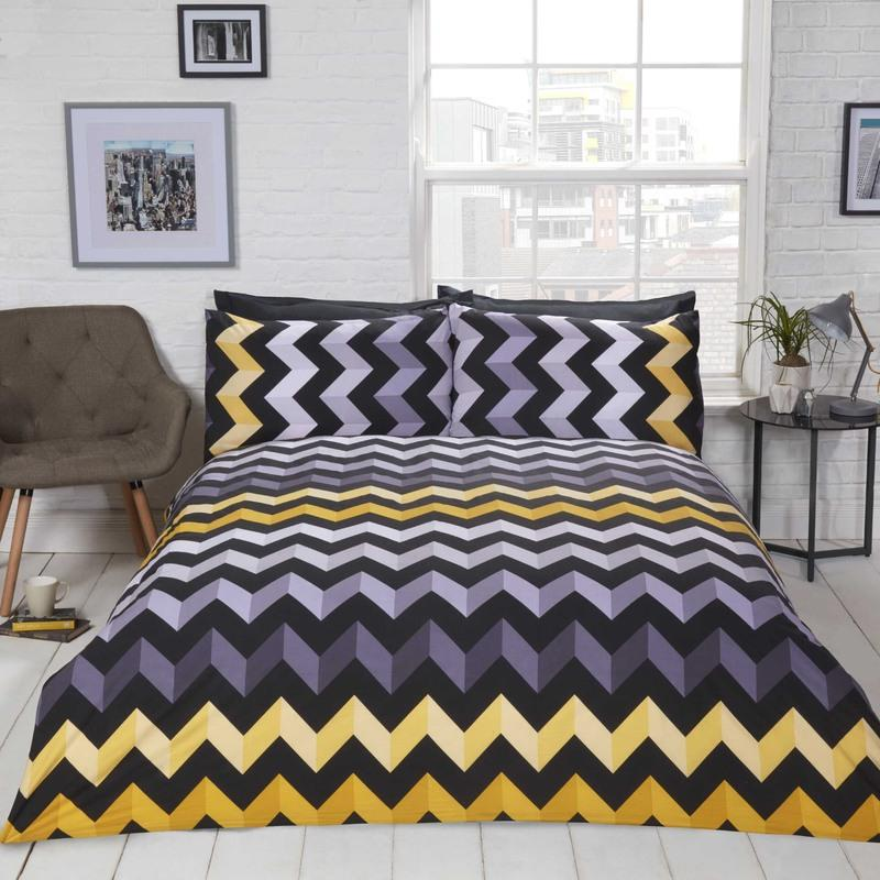 Rapport Beds Three D Bedding Set Ochre Picture