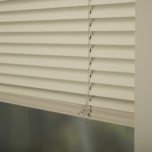 25mm Premier Aluminium Blinds Brushed Sand