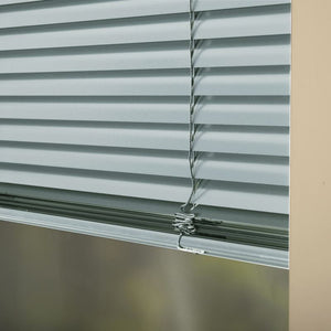 25mm Premier Aluminium Blinds Pastel Blue