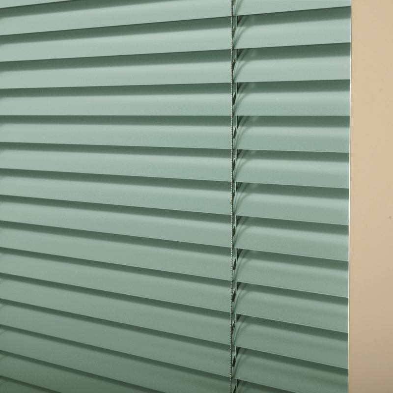 25mm Premier Aluminium Blinds Powder Green