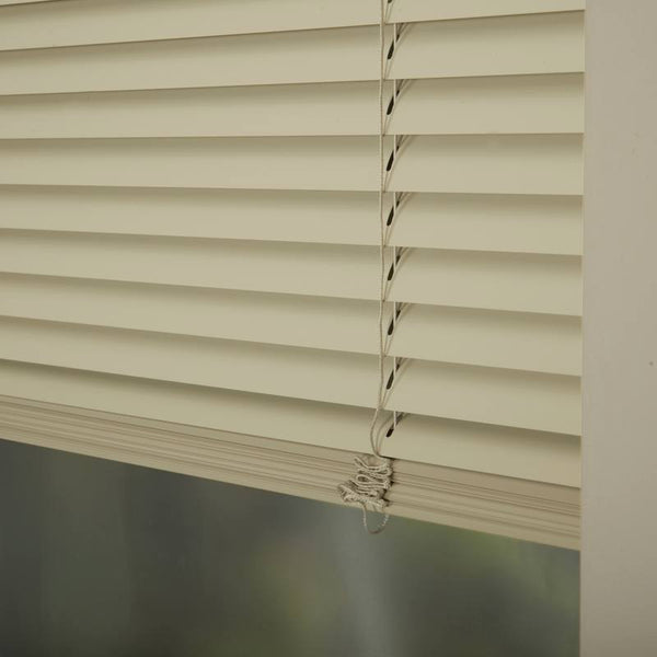 25mm Premier Aluminium Blinds Vanilla