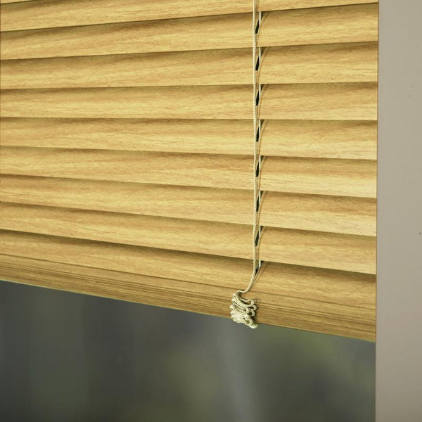 25mm Premier Aluminium Blinds Woodline 9406