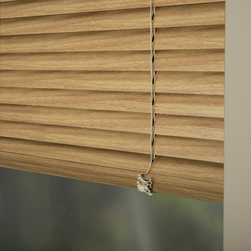 25mm Premier Aluminium Blinds Woodline 9409