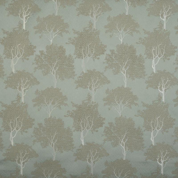 Trees Made to Measure Curtains Duck Egg