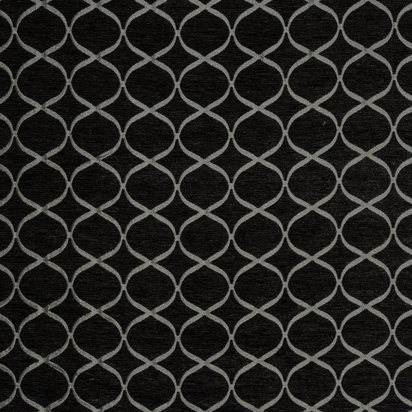 Trellis  Curtain Fabric Mocha