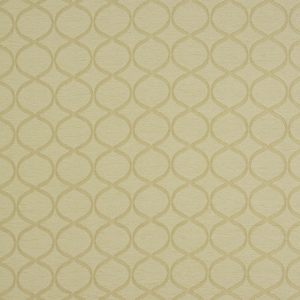 Trellis  Curtain Fabric Natural