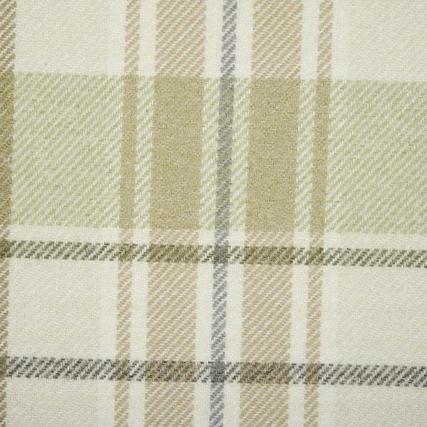 Troon Curtain Fabric Moss