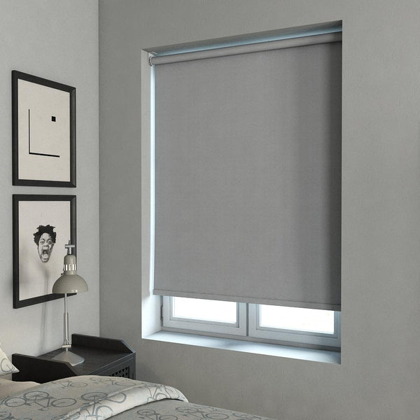 Tulsa Blackout Roller Blind Denim