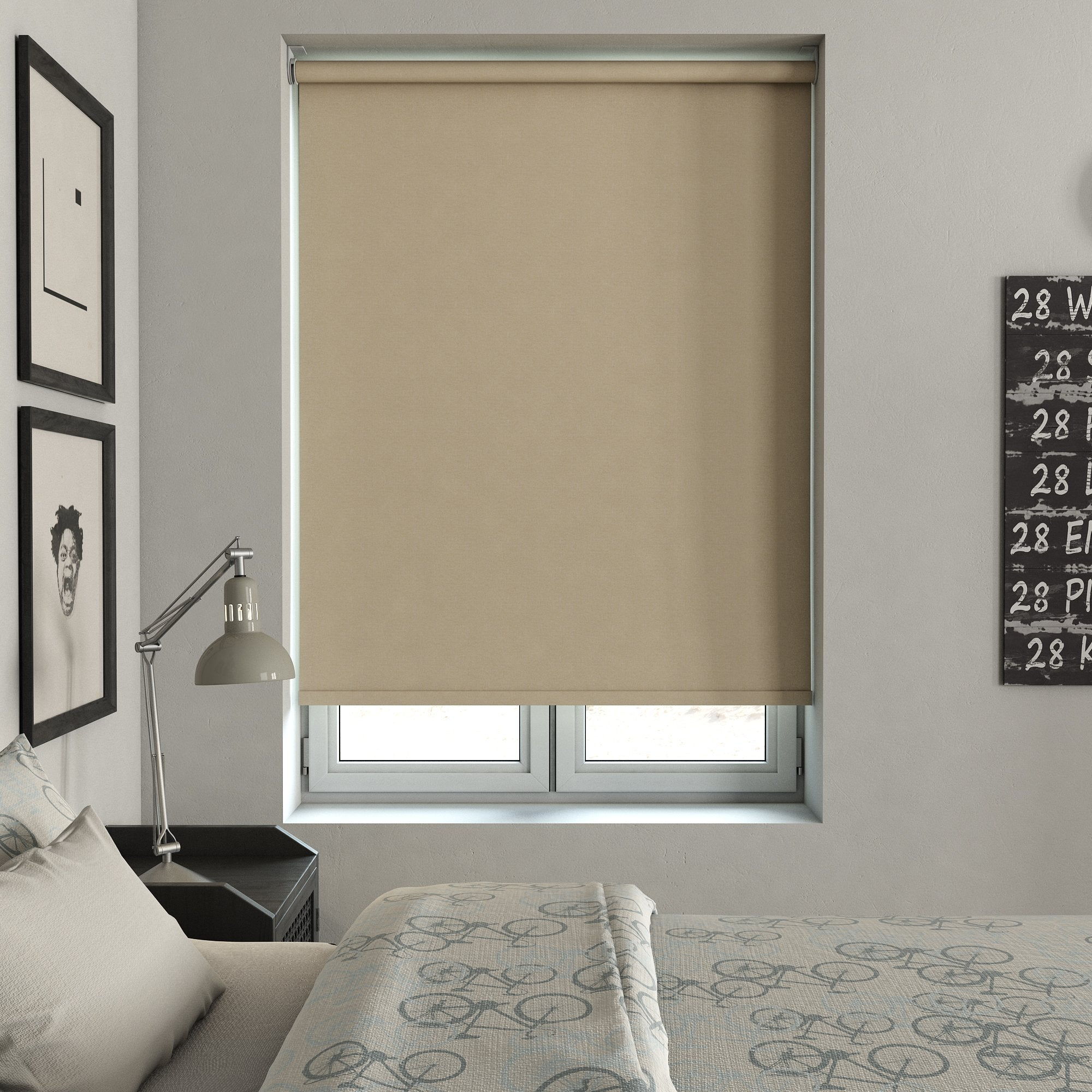 Harris Parts Blinds Tulsa Blackout Roller Blind Shell Picture