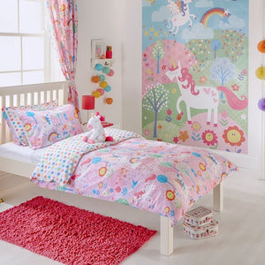 Unicorn Bedding Set Pink