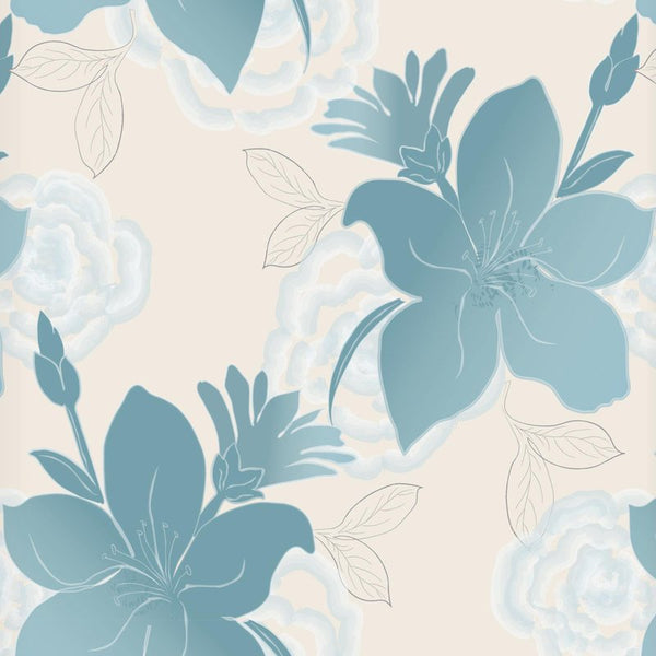 Lily Ready Made Blackout Roller Blind Teal