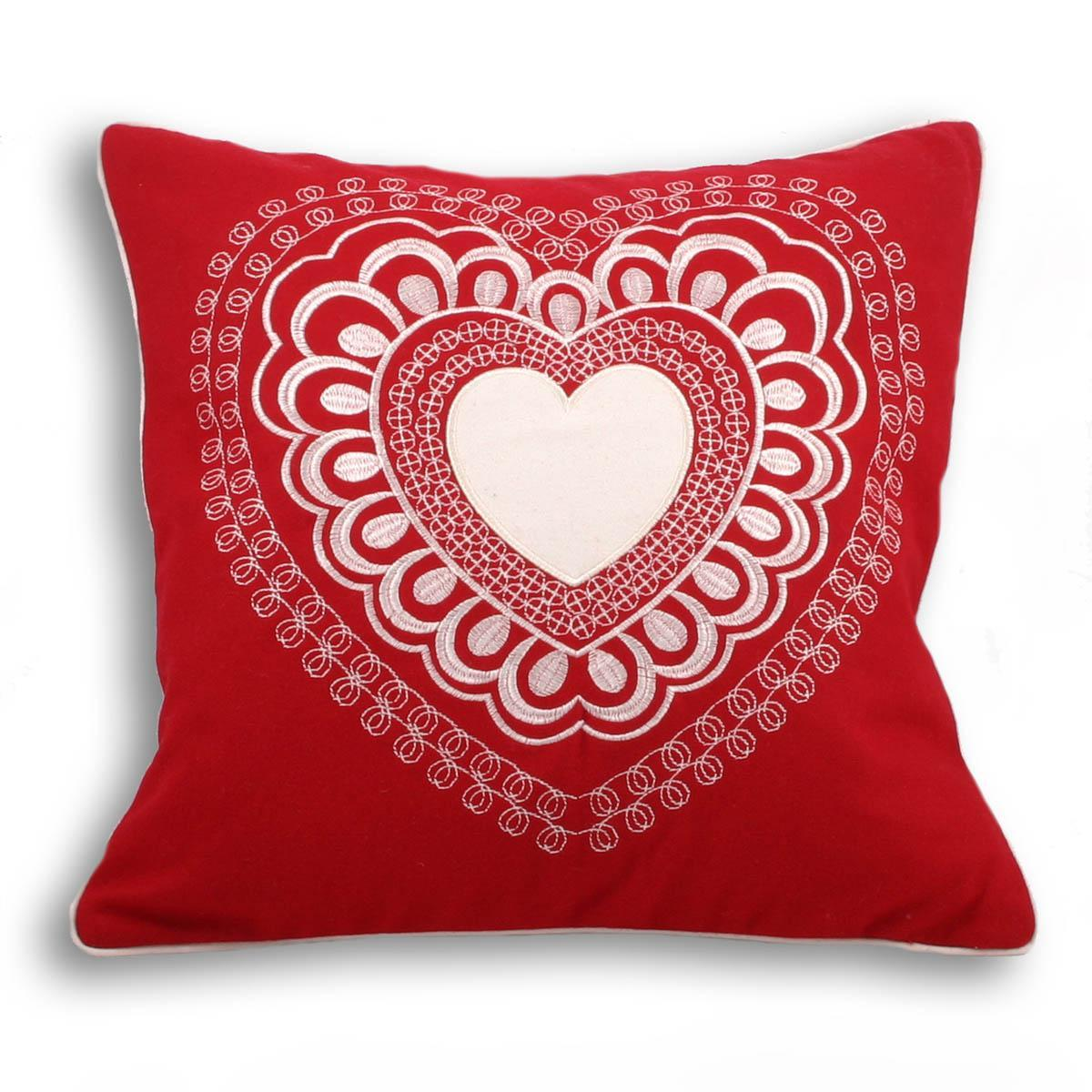 Riva Cushions And Throws Valantine CC Red Picture