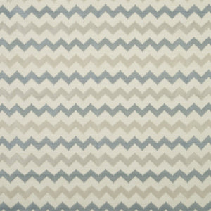 Verne Curtain Fabric Blue