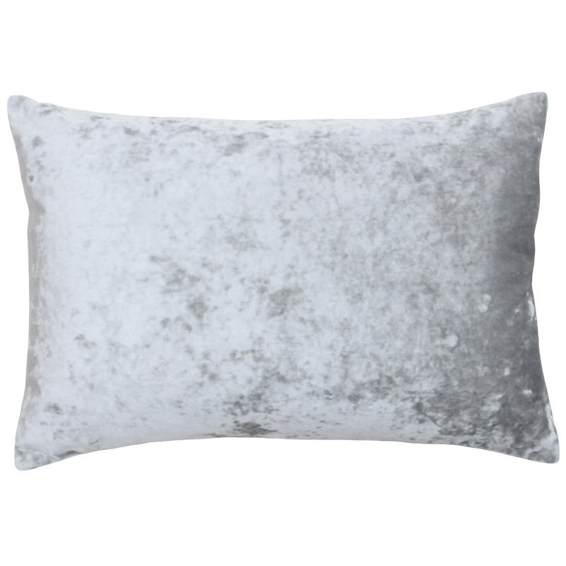 Riva Cushions And Throws Verona Boudoir C/Cover Silver Picture