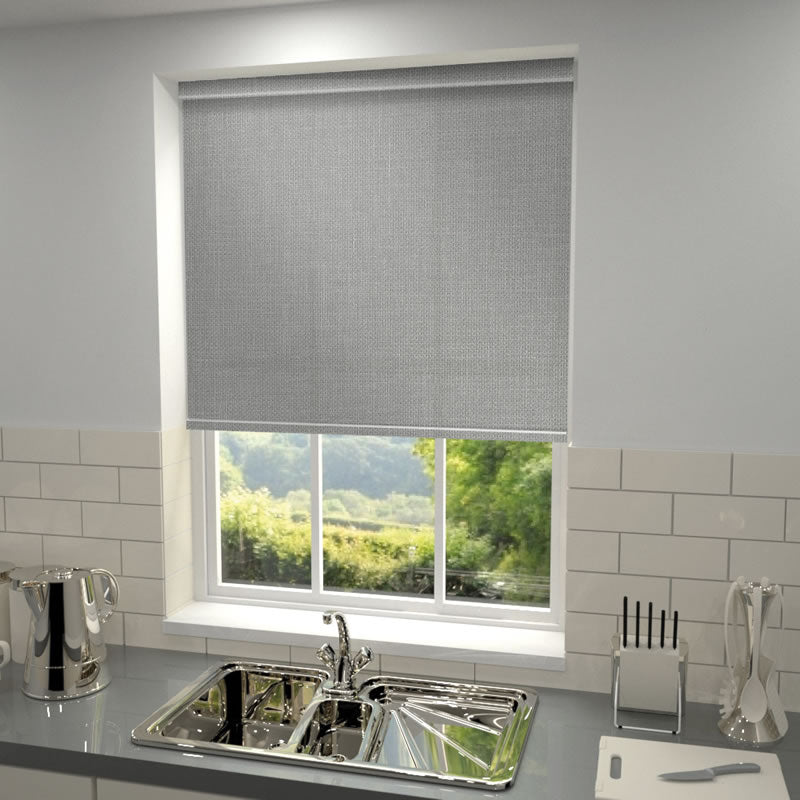 Decora Blinds Vieo Roller Blind Graphite Picture