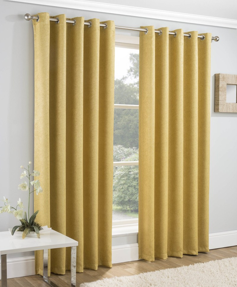 Tyrone Ready Made Curtains Vogue Ready Made Thermal Blockout Eyelet  ... Picture