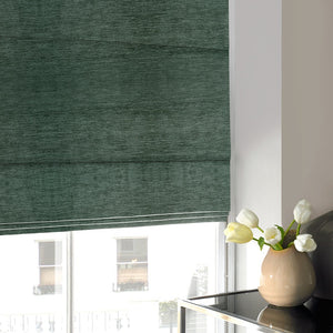 Wessex Roman Blind Charcoal