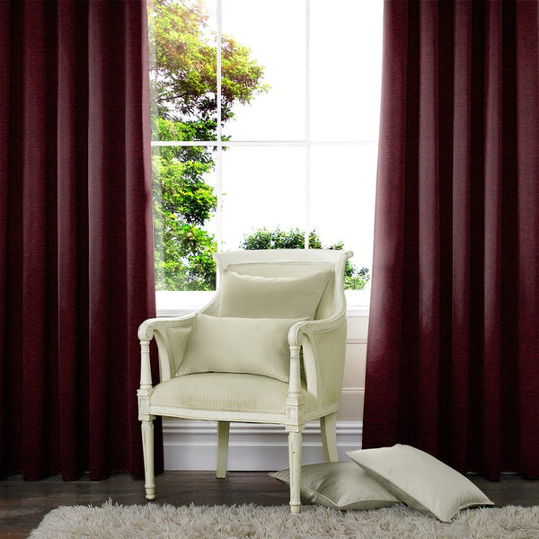 Wessex Made to Measure Curtains Wine