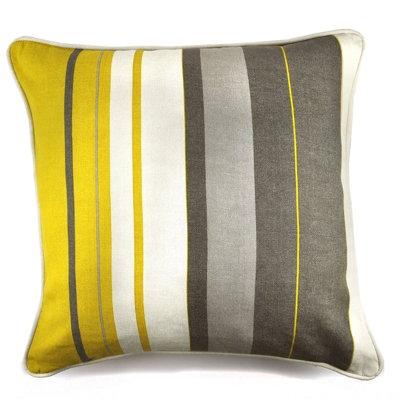 J Rosenthal Cushions And Throws Whitworth Check C/Cover Ochre Picture