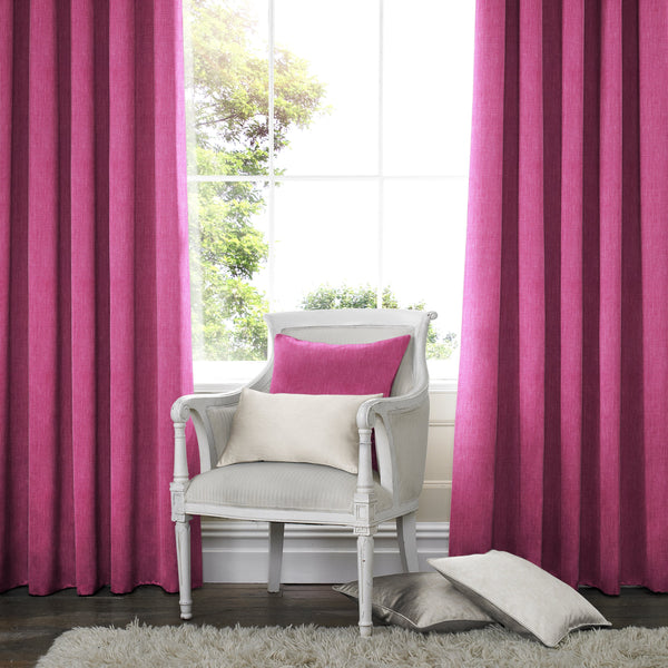 Willow Made to Measure Curtains Fuchsia