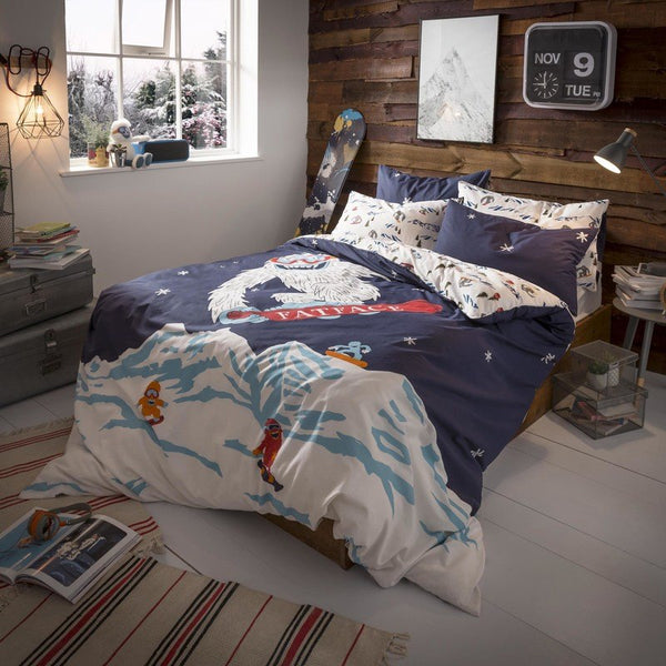 FatFace - Yeti Childrens Bedding Collection Multi