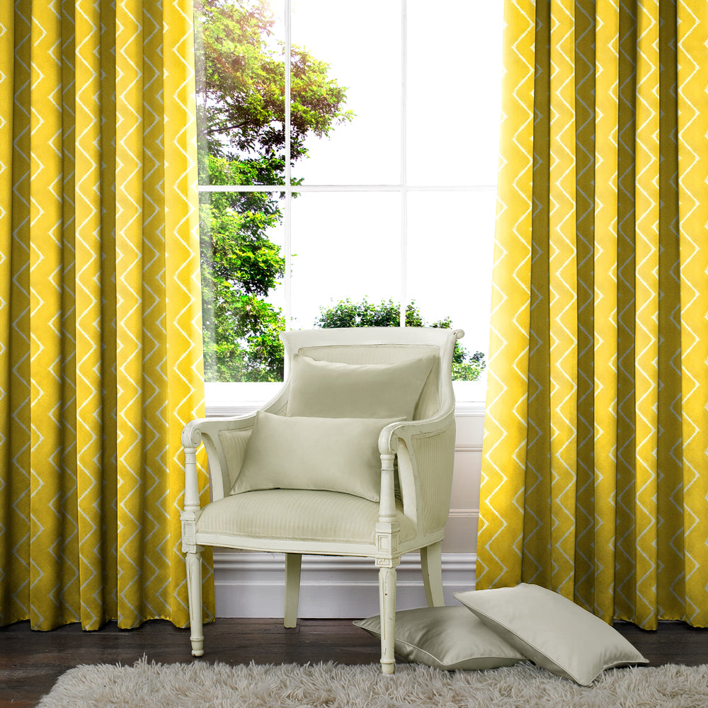 Belfields Made to Measure Curtains  Marley Made to Measure Curtains Citrus