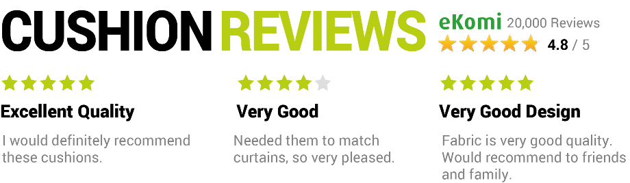 Red Cushions Reviews