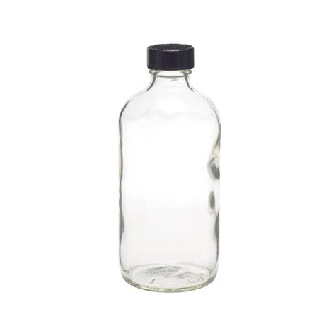 Boston Round Glass Bottle (16 oz)