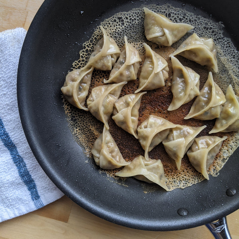 Moo Shu Dumplings - Vegan and Frozen