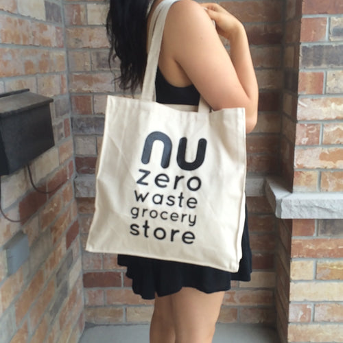 """NU"" Medium Cotton Tote"