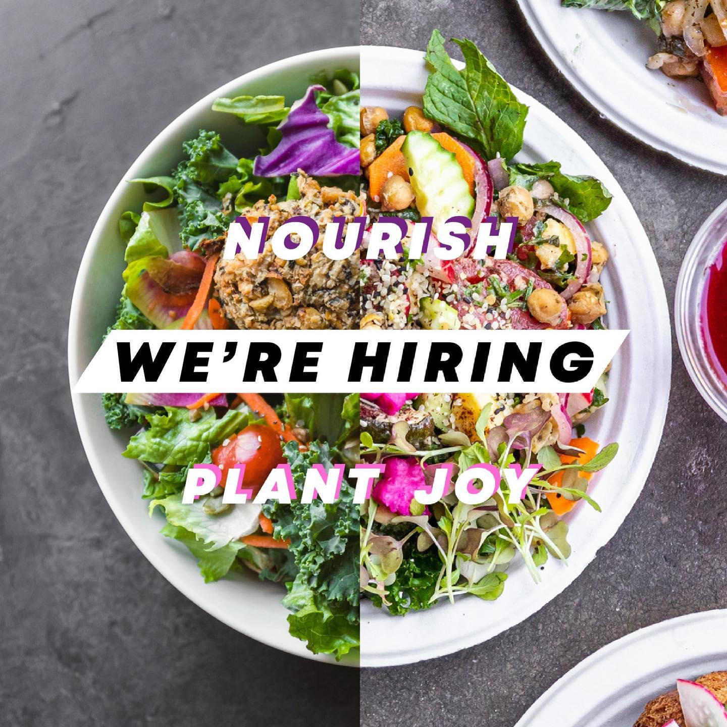 Calling Fellow Vegan Culinarians - We're Hiring!