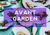 Our Next Farm to Table Avant Garden Party is Coming up on October 5th!