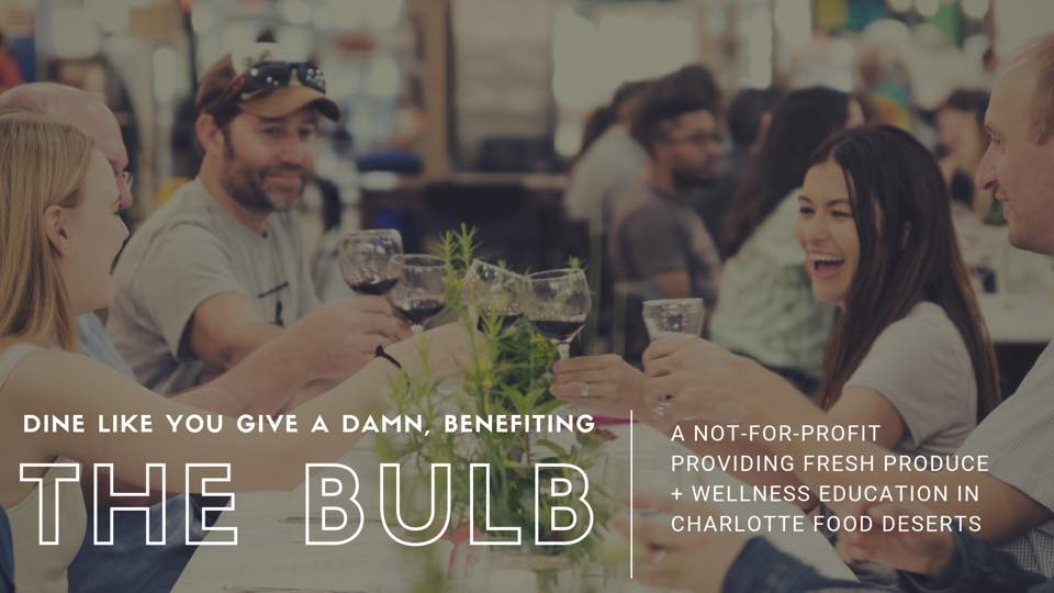 Join us for Dine Like You Give A Damn, Benefitting The Bulb, on October 25th at 7th Street Market!