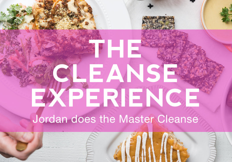 Jordan does the Master Cleanse