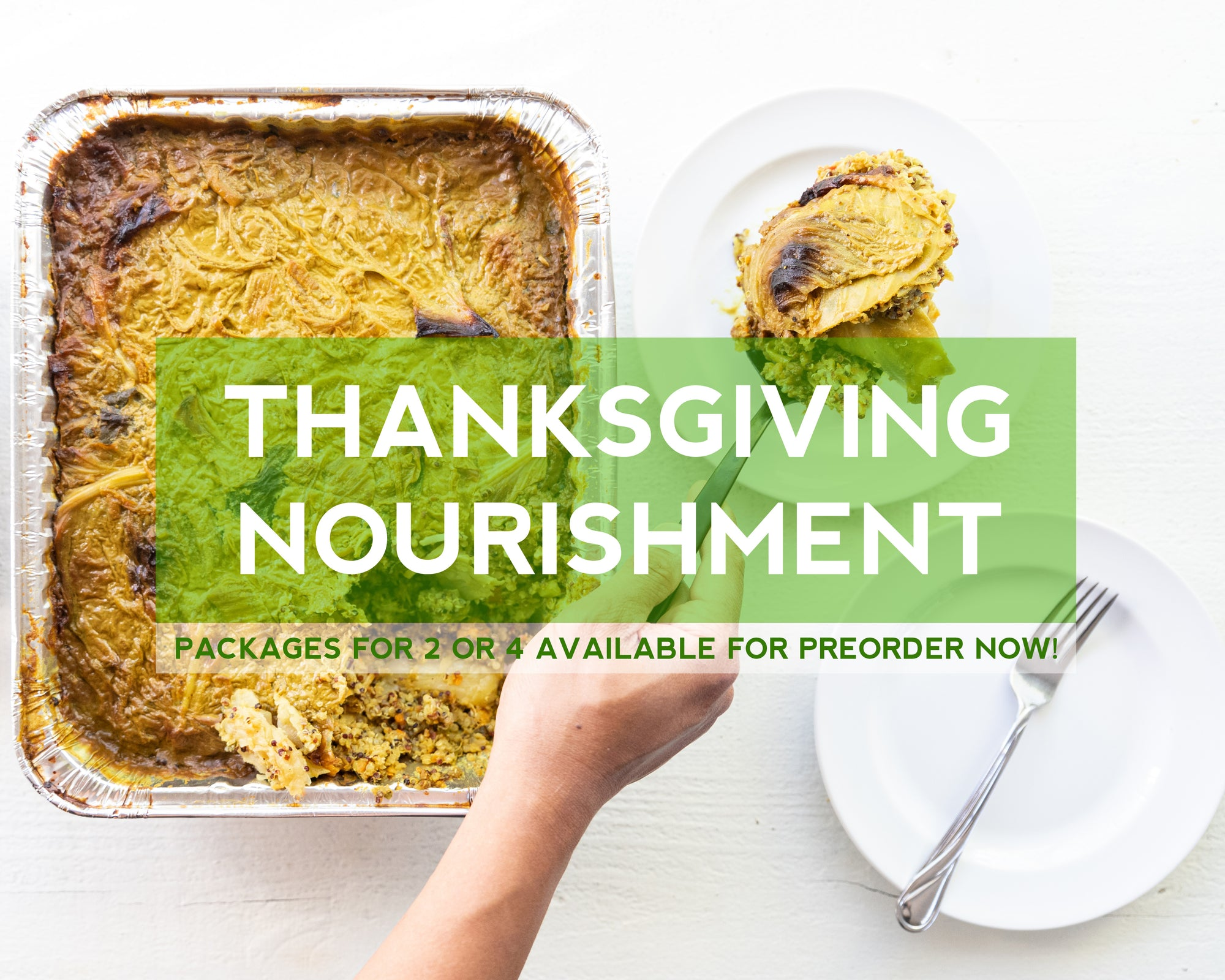 Our Thanksgiving Menu is live - preorder now for delivery November 23rd or 24th!