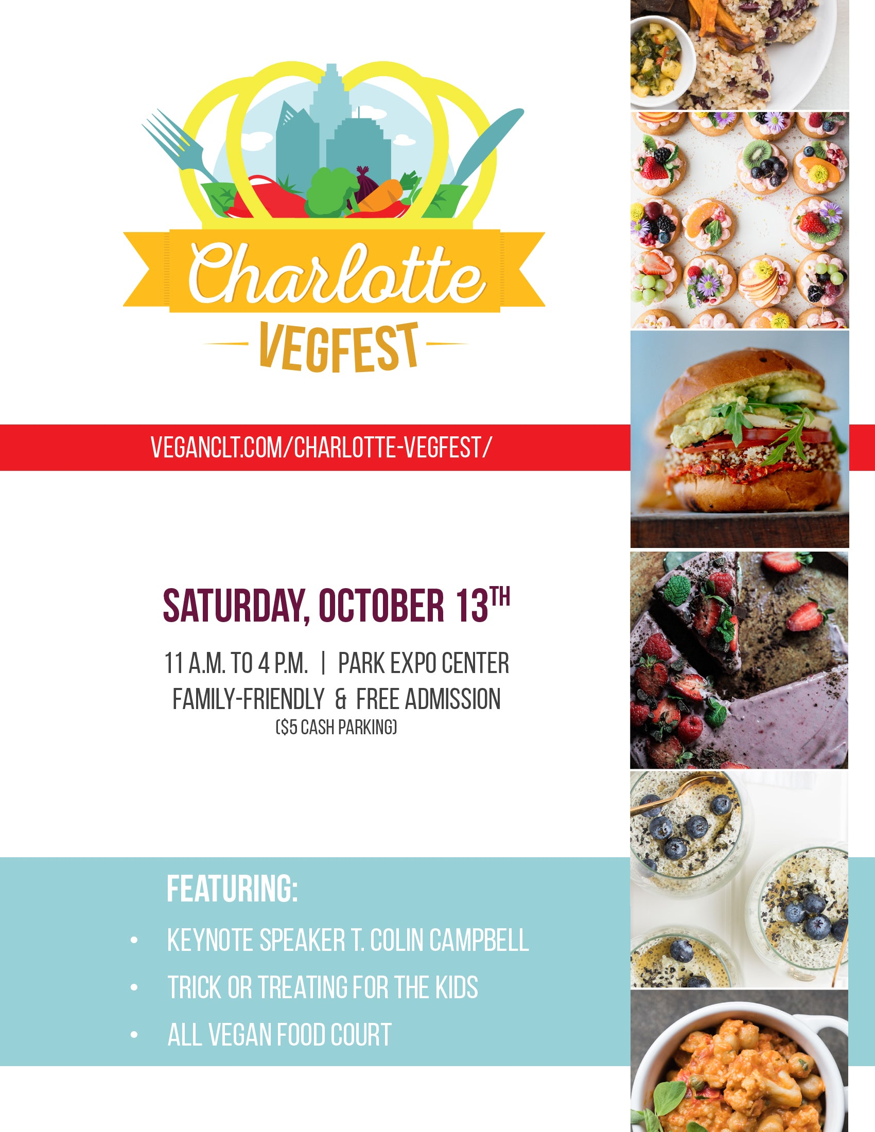 Charlotte Vegfest 2018 was a smashing success! Read on for some of our favorite moments...