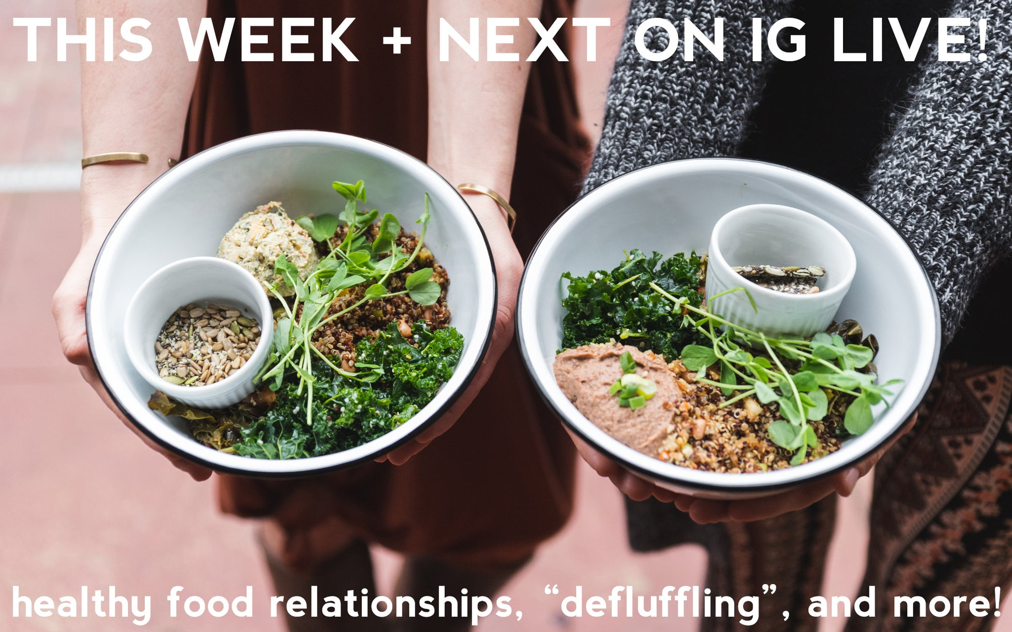 Healing our relationships with food through veganism, some smart advice on Summer Defluffing, and more - this week on Instagram!