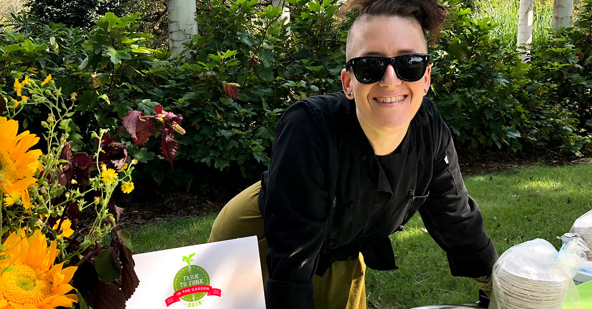 PCG Spotlights Chef Julia this month. Read all about her and their upcoming Farm To Fork Picnic in the Garden Event!