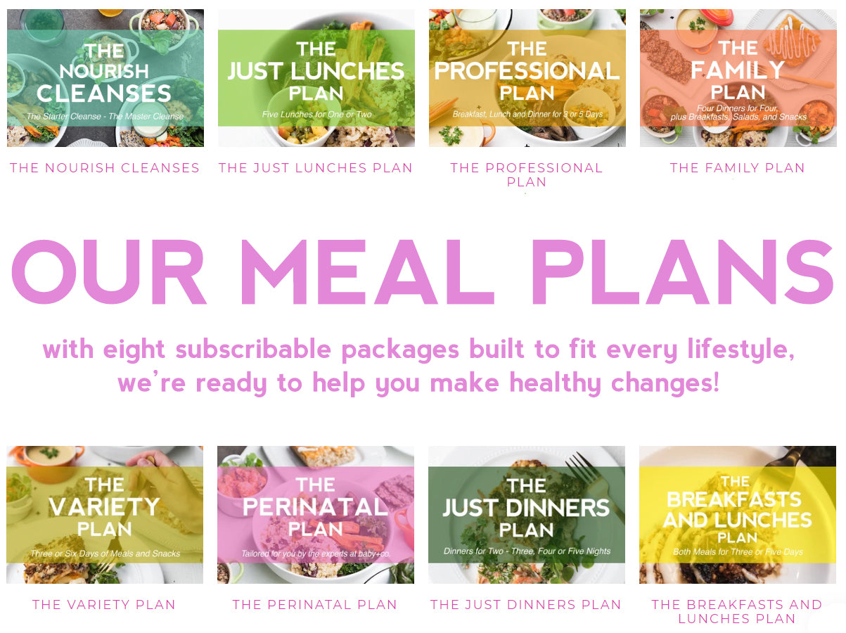 Meal Plans to Fit Your Every Need!