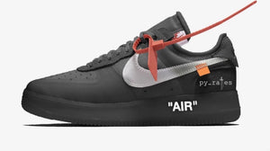 LEAK: Another Black Off-White x Nike Air Force 1 is On The Way