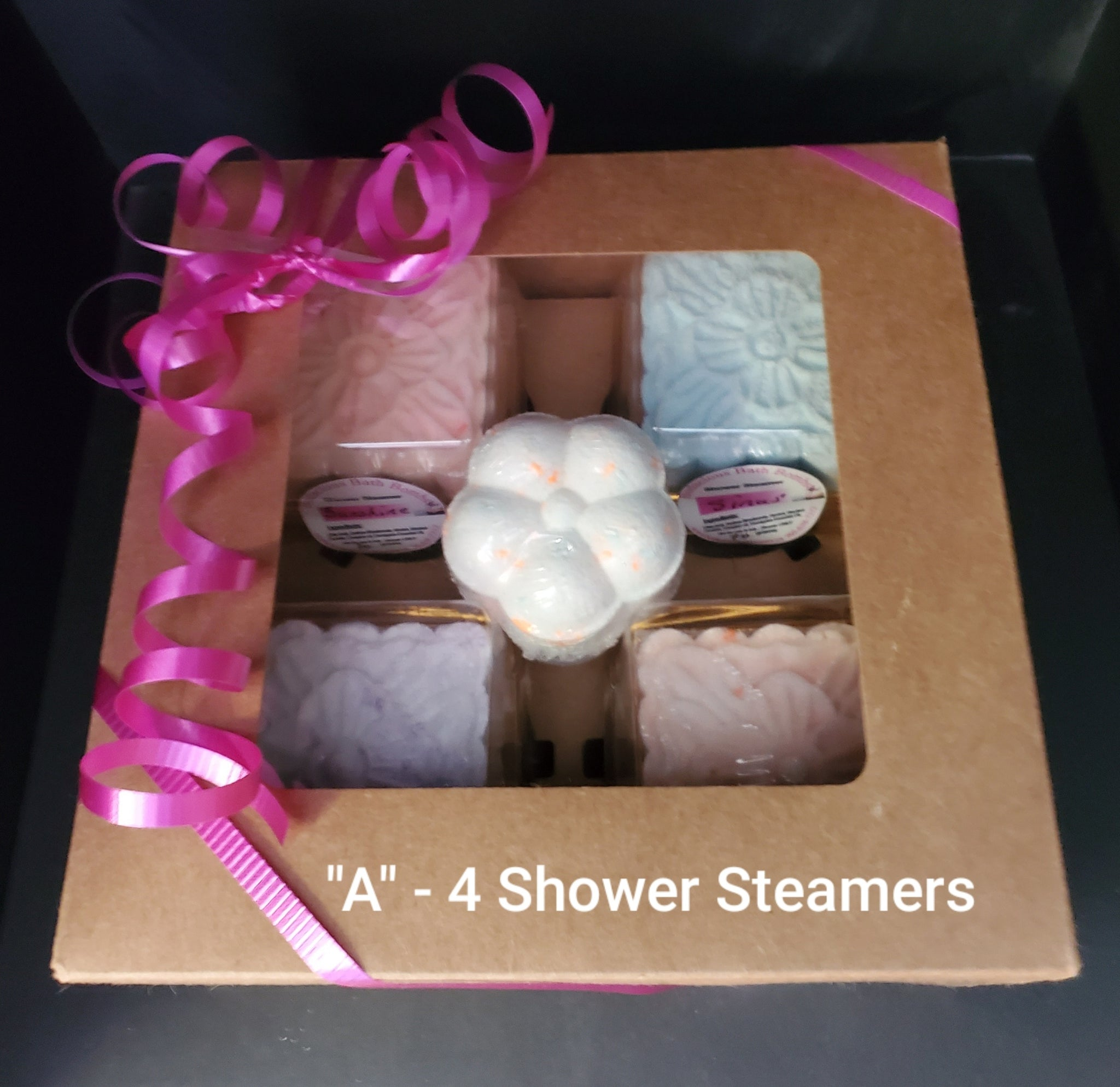 Shower Steamers (4) by Bodacious Bath Bombs - $20